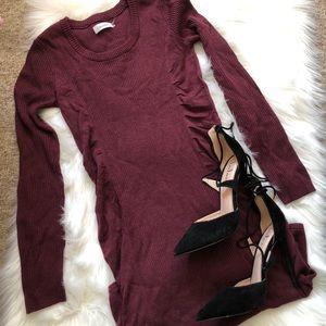 Calvin Klein long sleeve dress